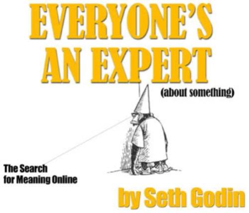 4EveryoneIsAnExpertBySethGodin 20 Best Free E books To Enhance Your Blogging Career