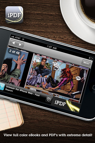 iPDF Top 100 Best Free iPhone 4 Apps