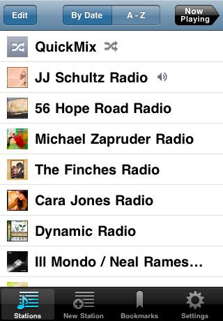 pandora radio Top 100 Best Free iPhone 4 Apps