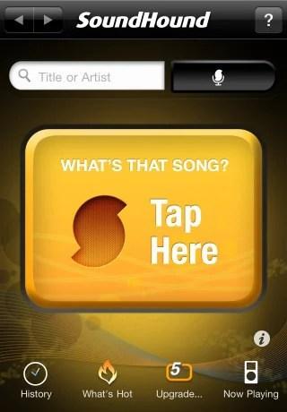 sound hound Top 100 Best Free iPhone 4 Apps
