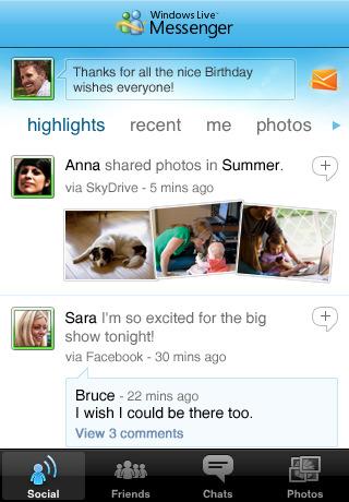 window messanger Top 100 Best Free iPhone 4 Apps