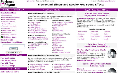 Partners In Rhyme 50+ Best Sites To Download Free Sound Effects