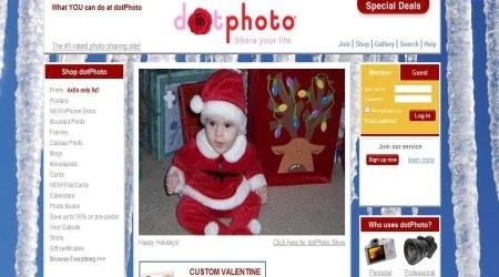 dotphoto5 Best Photo Sharing Sites To Create Photography Portfolios