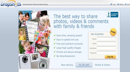 dropshot2 Best Photo Sharing Sites To Create Photography Portfolios