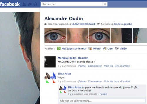 new facebook profile hack e1293994219470 35 Most Amazing And Creative Examples Of New Facebook Profile Page Design