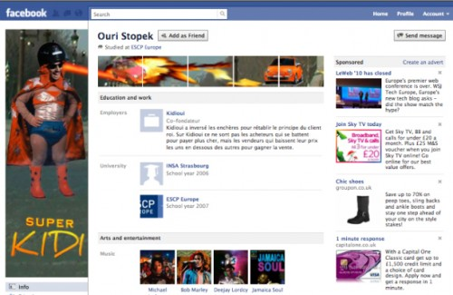new facebook profile hack14 e1293996559481 35 Most Amazing And Creative Examples Of New Facebook Profile Page Design