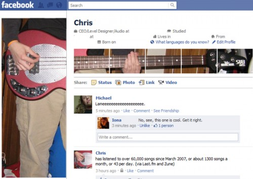 new facebook profile hack30 e1293999351773 35 Most Amazing And Creative Examples Of New Facebook Profile Page Design