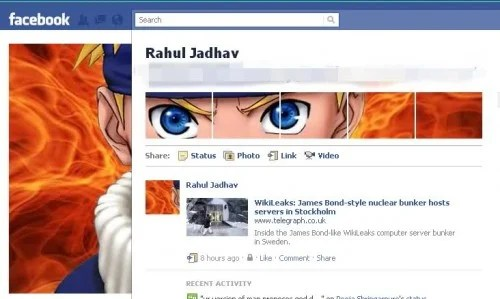 new facebook profile hack31 e1293999460759 35 Most Amazing And Creative Examples Of New Facebook Profile Page Design