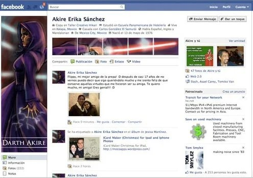 new facebook profile hack8 35 Most Amazing And Creative Examples Of New Facebook Profile Page Design