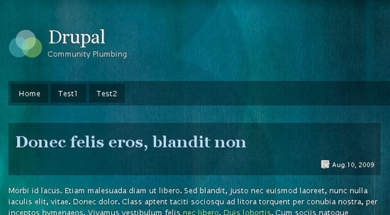 best free drupal theme15 40 High Quality Drupal Themes For Free Download