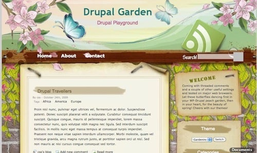 best free drupal theme16 40 High Quality Drupal Themes For Free Download