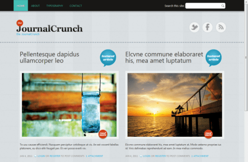 best free drupal theme37 e1300086299171 40 High Quality Drupal Themes For Free Download