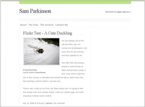 screen capture 10 e1299565524881 8 Fantastic Tutorials On How To Build Your Own Custom WordPress Theme