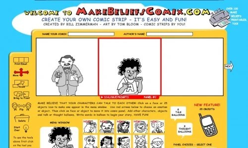 screen capture 29 e1301549392471 11 Great Sites To Create Your Own Comics Online For Free