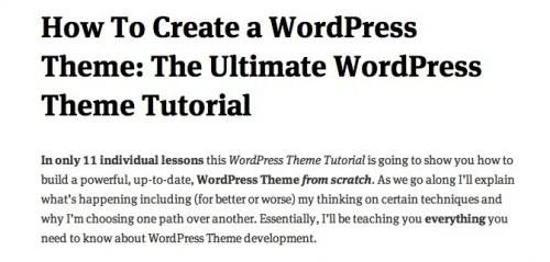 screen capture 91 e1299565305309 8 Fantastic Tutorials On How To Build Your Own Custom WordPress Theme