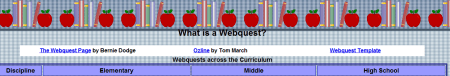 Webquests 450x76 25 Great Websites For Learning Maths
