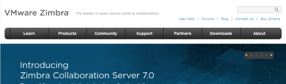 Zimbra offers Open Source email server software and shared calendar for Linux and the Mac. 580x172 Top 7 Webmail Software