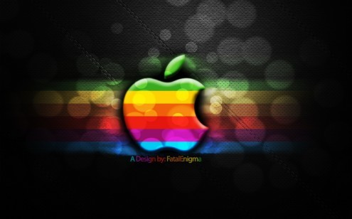 appleblur e1273314029512 35 Most Beautiful Widescreen Wallpapers of Apple