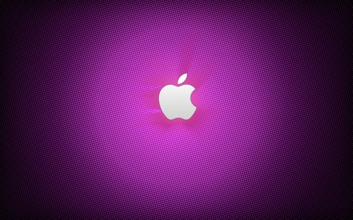 purpleapple e1273318925741 35 Most Beautiful Widescreen Wallpapers of Apple