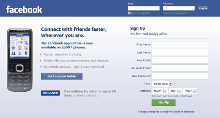 facebook 450x242 Best Entertainment Websites On The Web in 2011
