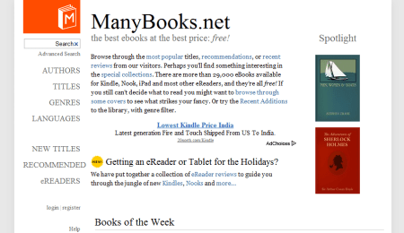 many books 450x260 Best Entertainment Websites On The Web in 2011