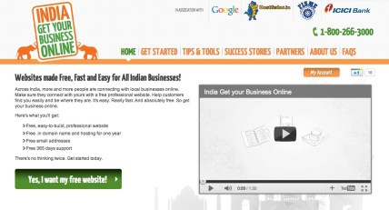 Google Providing Free .in Domain and Free Web Hosting with IndiaGetOnline.in