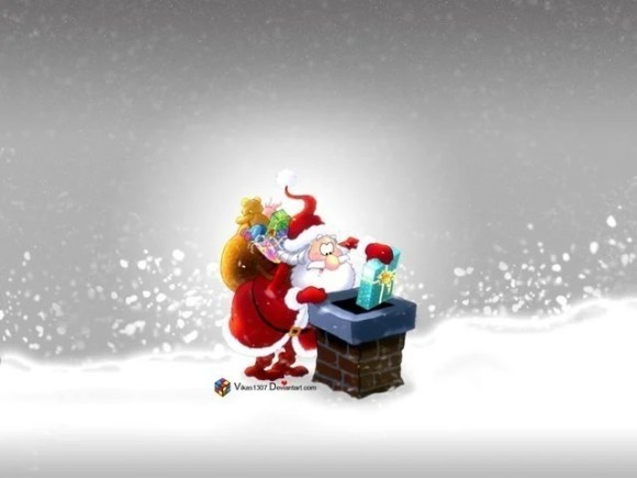 christmaswallpapers43 580x435 50+ Beautiful Christmas Wallpapers for your Desktop