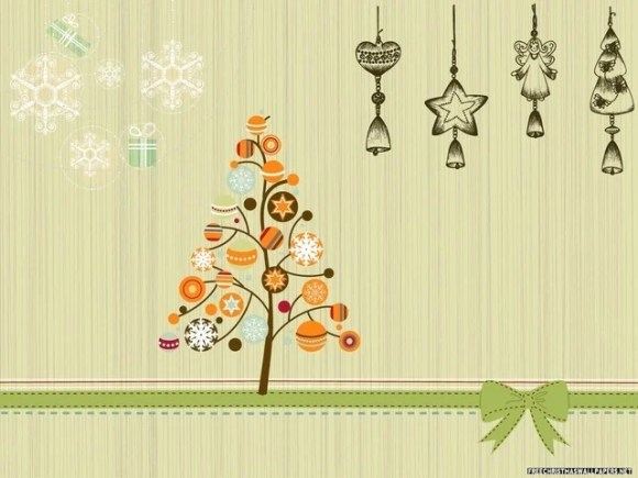 christmaswallpapers74 580x435 50+ Beautiful Christmas Wallpapers for your Desktop
