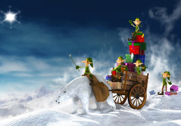 christmaswallpapers82 580x404 50+ Beautiful Christmas Wallpapers for your Desktop