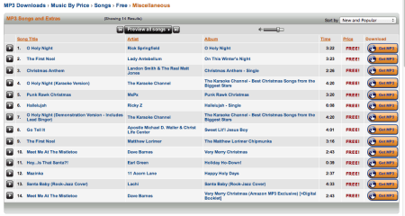 Screen Shot 2012 12 23 at 12.49.19 PM 450x240 5 Best Sites to Listen & Download Free Christmas Music