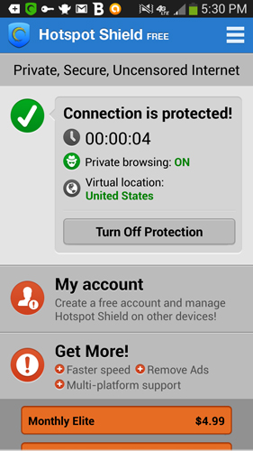 Hotspot Shield VPN for Android
