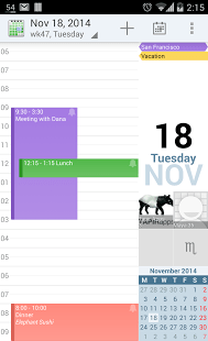 aCalendar 100 Best Free Android Apps for Superusers