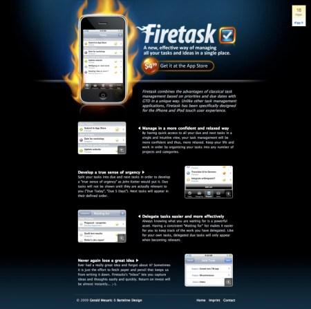 Firetask Website