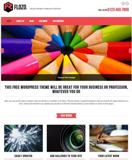 Flozo 450x546 75 Best Free Wordpress Themes of 2014 Till July