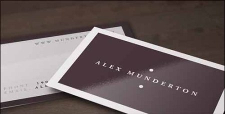 Free Minimal PSD Business Card Template
