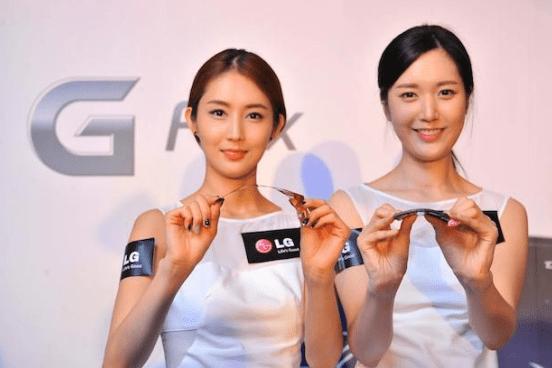LG G Flex1 The Best Gadgets of 2014