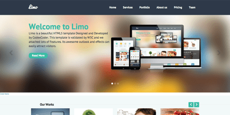 Limo 450x225 75 Best Free Wordpress Themes of 2014 Till July