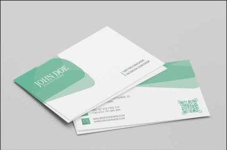 Personal Visiting Free PSD Business Card Template