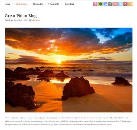 Photo 450x428 75 Best Free Wordpress Themes of 2014 Till July