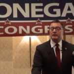 Steve Lonegan announcing his candidacy in CD3