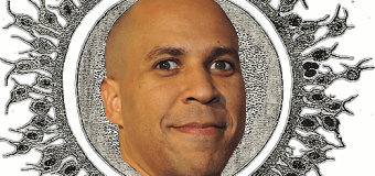 """""""Cory Booker was once a one-cell zygote."""""""