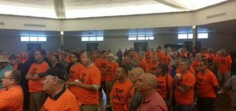 Small army of Sweeney recall activists launch petition drive in Washington Township