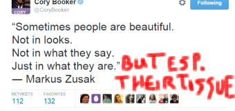 Cory Booker's tweets are laughable in the #DefundPP context