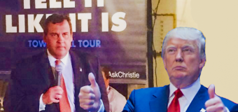 Christie's New Hampshire insurgency could save Trump's skin