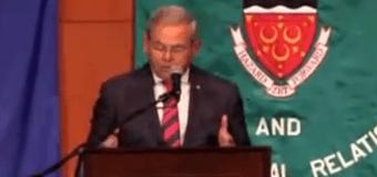 WATCH: Menendez comes out against Obama's Iran Deal at Seton Hall