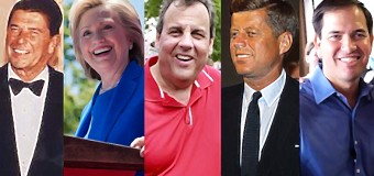 Christie turns 53, so here's a quick look at presidential age