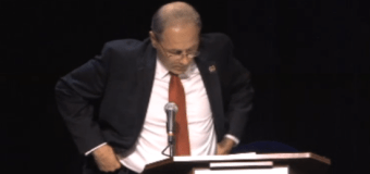 Take #2: Mazzeo bombs second debate, asks moderator for a time-out