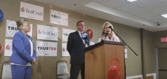 """VIDEO: Cruz rallies backers for """"seven weeks to educate New Jersey"""""""