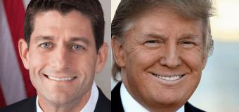 Trump, Ryan issue joint statement