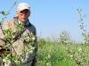 Картирование зарослей кустарников, Центрально-Черноземный заповедник. Фото Г.А. Рыжкова